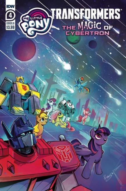 idw Publishing My Little Pony / Transformers II #4B Comic Book