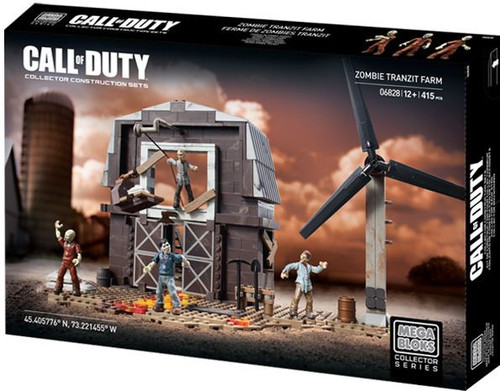 Mega Bloks Call of Duty Zombie TranZit Farm Set #06828 [Damaged Package]