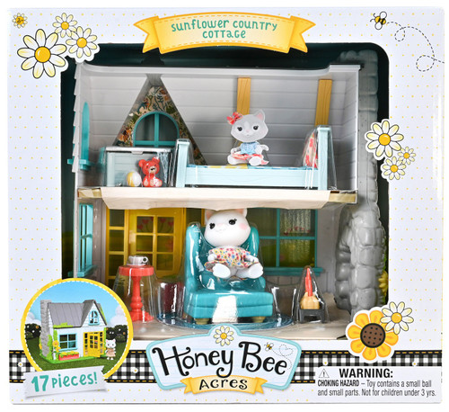 Honey Bee Acres Sunflower Country Cottage Playset