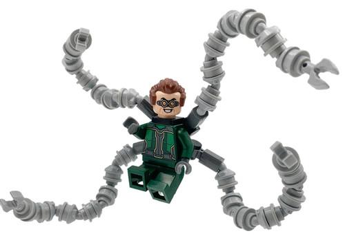 LEGO Marvel Super Heroes Spider-Man Dr. Octopus (Otto Octavius) / Doc Ock Minifigure [Dark Green Suit Loose]