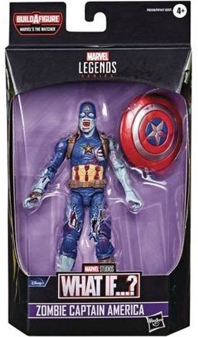 What If...? Marvel Legends The Watcher Series Zombie Captain America Action Figure (Pre-Order ships February)