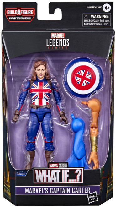 What If...? Marvel Legends The Watcher Series Captain Carter Action Figure (Pre-Order ships February)