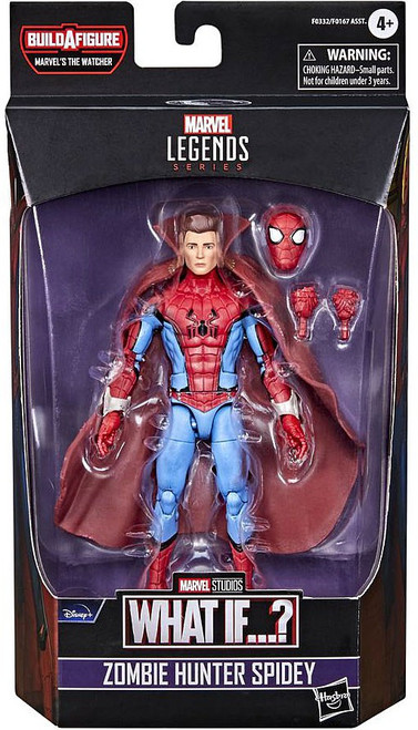 What If...? Marvel Legends The Watcher Series Zombie Hunter Spidey Action Figure (Pre-Order ships February)