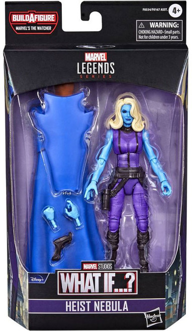 What If...? Marvel Legends The Watcher Series Heist Nebula Action Figure (Pre-Order ships February)