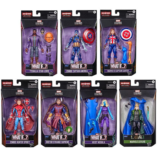 Marvel Legends The Watcher Series Set of 7 Action Figures (Pre-Order ships February)