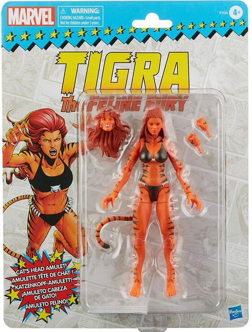 Marvel Legends Vintage (Retro) Series Tigra Exclusive Action Figure [The Feline Fury] (Pre-Order ships February)