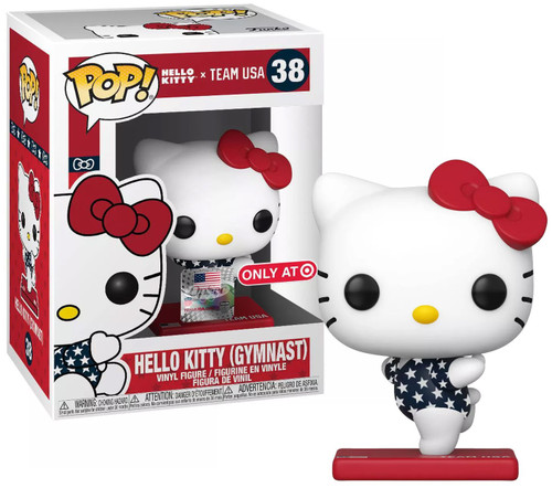 Funko Team USA POP! Sanrio Hello Kitty Exclusive Vinyl Figure [Gymnast]