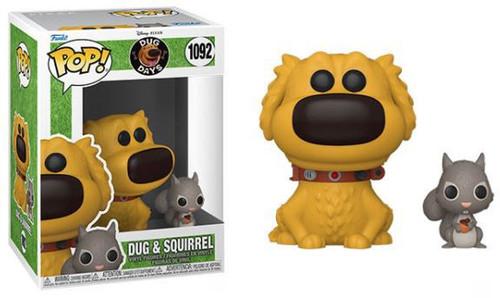 Funko Disney Dug Days Pop & Buddy Dug Vinyl Figures #1092 [with Squirrel] (Pre-Order ships November)