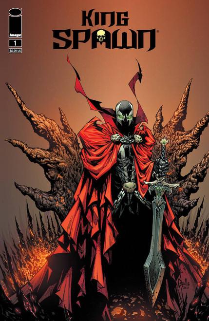 Image Comics King Spawn #1E Comic Book [Greg Capullo Variant]