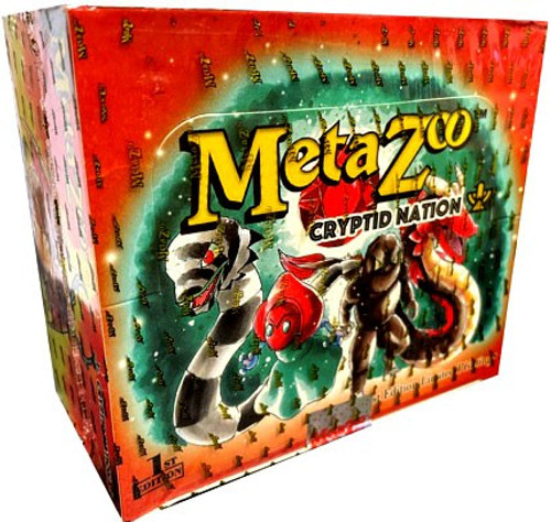 MetaZoo Trading Card Game Cryptid Nation Base Set Booster Box [1st Edition, 36 Packs]
