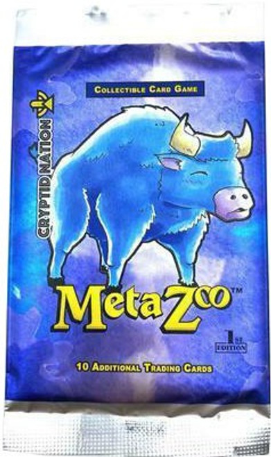 MetaZoo Trading Card Game Cryptid Nation Base Set Booster Pack [1st Edition, 10 Cards]