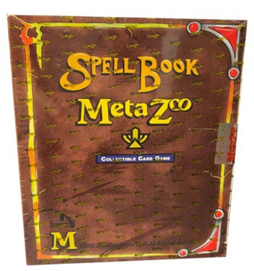 MetaZoo Trading Card Game Cryptid Nation Base Set Spellbook [1st Edition]
