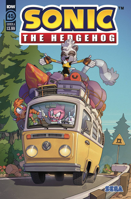 idw Publishing Sonic the Hedgehog, Vol. 3 #45A Comic Book (Pre-Order ships July)