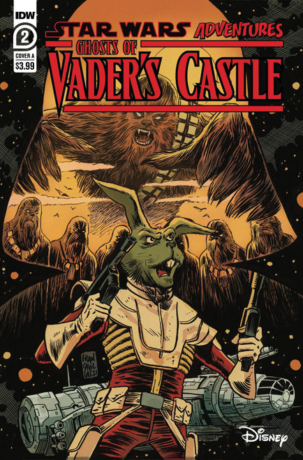 IDW Publishing Star Wars Adventures: Ghost Vaders Castle #2A Comic Book (Pre-Order ships October)