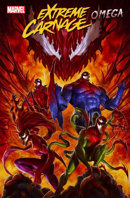 Marvel Extreme Carnage: Omega #1 Comic Book (Pre-Order ships September)