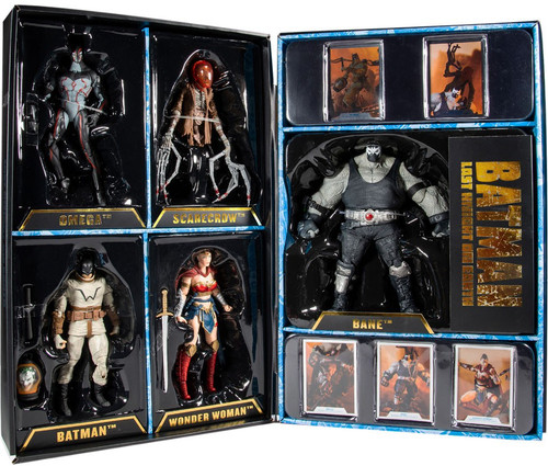 McFarlane Toys DC Multiverse Last Knight on Earth Bane, Batman, Wonder Woman, Scarecrow & Omega Exclusive Action Figure 5-Pack Boxed Set
