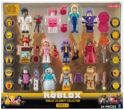 Roblox Series 4 Celebrity Collection Exclusive Action Figure 12-Pack