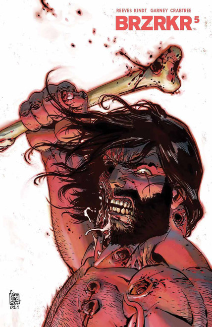 Boom! Studios BRZRKR #5B Comic Book [Camuncoli Variant] (Pre-Order ships September)