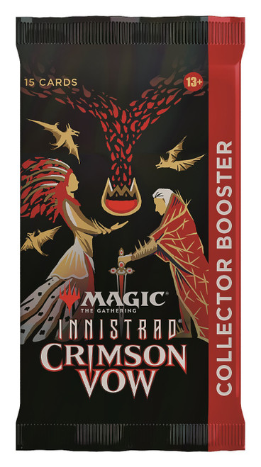 MtG Trading Card Game Innistrad: Crimson Vow COLLECTOR Booster Pack [15 Cards] (Pre-Order ships November)
