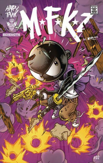 Behemoth Comics MFKZ #2B Comic Book