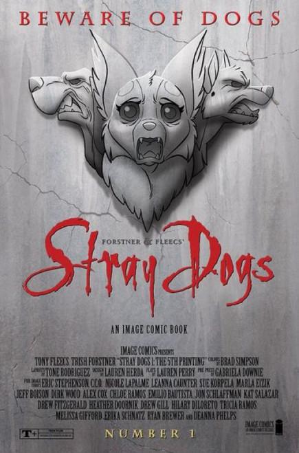 Stray Dogs (Image Comics) #1D Comic Book