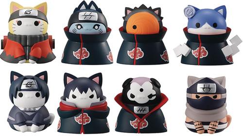 Naruto Nyaruto Defense Battle 2-Inch Mystery Box [8 Packs] (Pre-Order ships April)