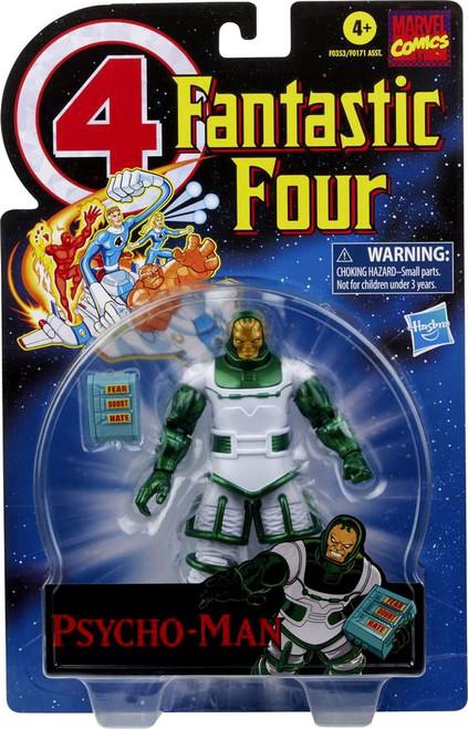 Fantastic Four Marvel Legends Vintage Series Psycho-Man Action Figure (Pre-Order ships February)