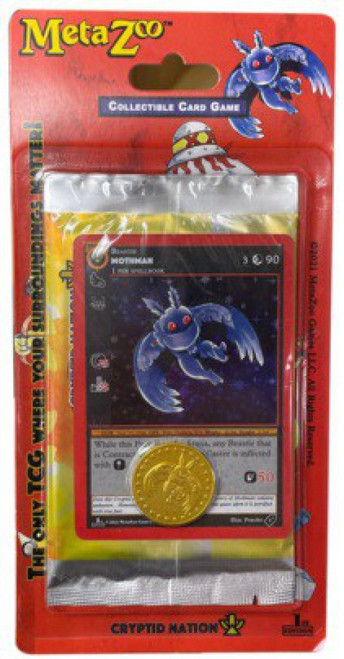 MetaZoo Trading Card Game Cryptid Nation Base Set BLISTER Pack [1st Edition]
