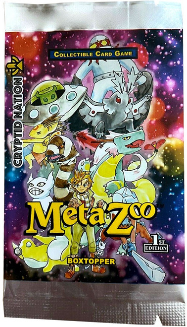 MetaZoo Trading Card Game Cryptid Nation Base Set BOXTOPPER Booster Pack
