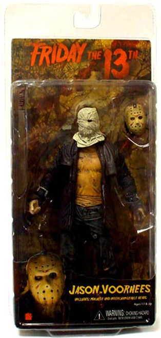 NECA Friday the 13th Jason Voorhees Action Figure [2009, Damaged Package]