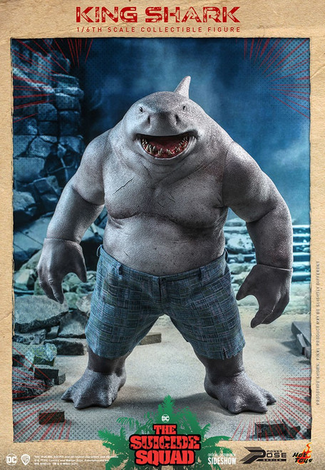 DC The Suicide Squad King Shark Collectible Figure (Pre-Order ships September 2022)