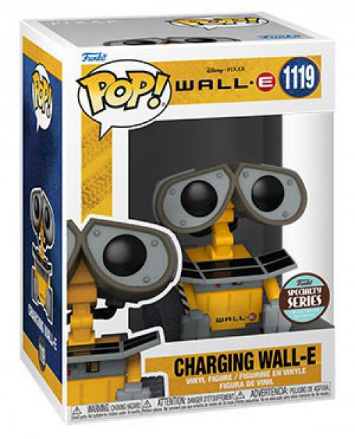 Funko Disney / Pixar Specialty Series Charging Wall-E Exclusive Vinyl Figure #1119 (Pre-Order ships January)