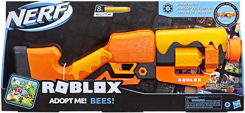 Nerf Roblox Adopt Me! Bees Dart Blaster Toy