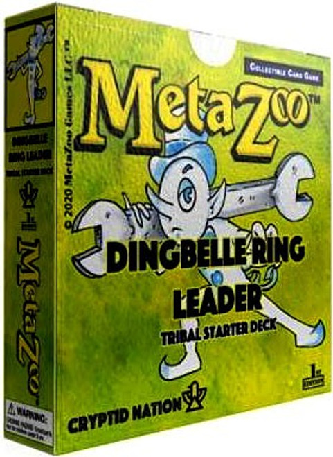 MetaZoo Trading Card Game Cryptid Nation Base Set Dingbelle Ring Leader Tribal Theme Deck [1st Edition]