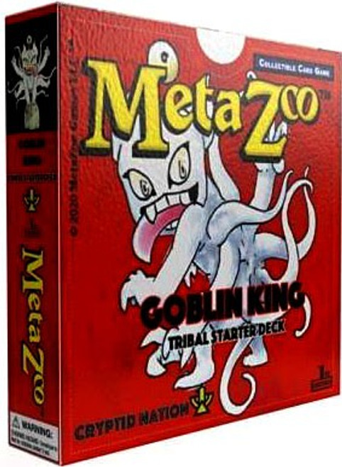 MetaZoo Trading Card Game Cryptid Nation Hopkinsville Goblin King Tribal Theme Deck