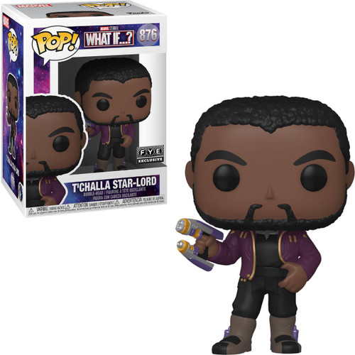 Funko Marvel What If? T'Challa Star-Lord Exclusive Vinyl Figure #876