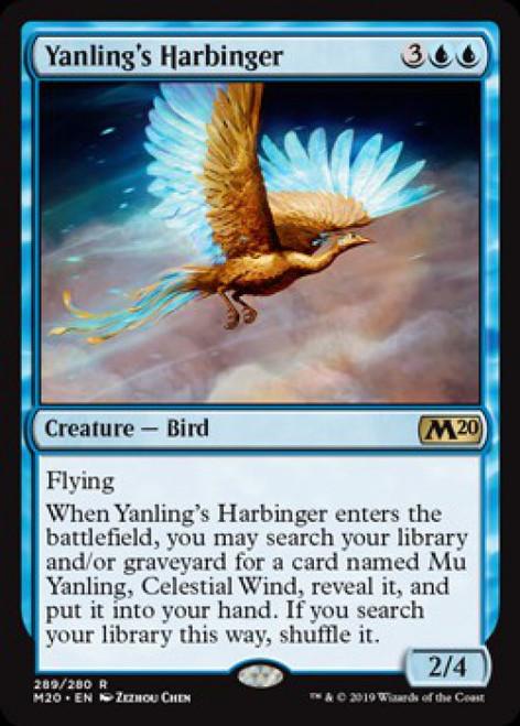 MtG 2020 Core Set Rare Yanling's Harbinger #289