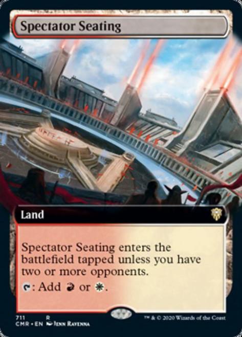 MtG Commander Legends Rare Spectator Seating #711 [Extended Art]