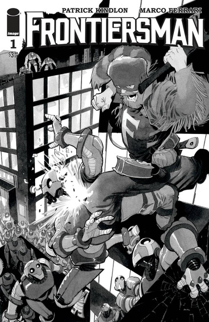 image Comics Frontiersman #1B Comic Book [Matteo Scalera Variant] (Pre-Order ships September)