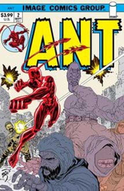 Image Comics ANT #2B Comic Book [70's Retro Trade Dress Variant] (Pre-Order ships September)
