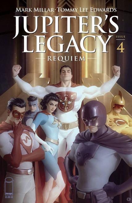 image Comics Jupiter's Legacy: Requiem #4B Comic Book [Alex Garner Variant] (Pre-Order ships September)