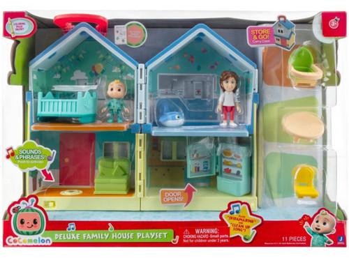 Cocomelon Family House Deluxe Playset