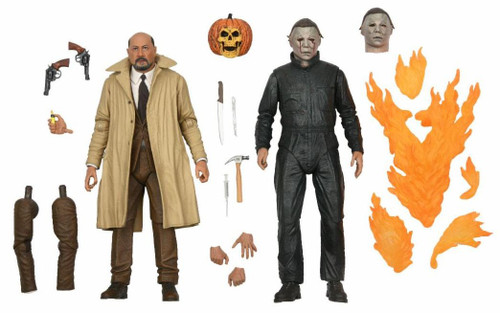 NECA Halloween 2 Michael Myers & Dr Loomis Action Figure 2-Pack [1981] (Pre-Order ships January)