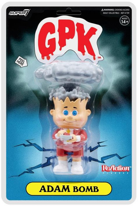 ReAction Garbage Pail Kids Adam Bomb Exclusive Action Figure [Red]