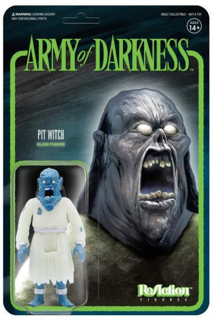 ReAction Army of Darkness Wave 3 Pit Witch Exclusive Action Figure [Glow in the Dark]