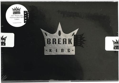Multi-Sport 2021 Break King Multi Sport Premium Edition Trading Card Box [3 Cards]