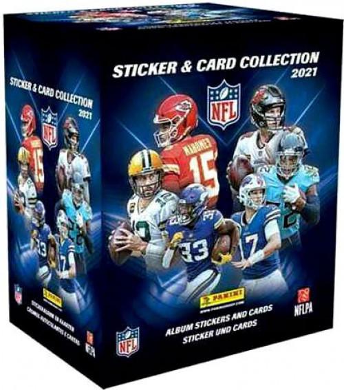 NFL Panini 2021 Football Sticker Collection Box [50 Packs]