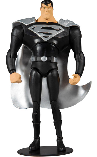 McFarlane Toys DC Multiverse Superman Action Figure [The Animated Series, Black Suit] (Pre-Order ships November)
