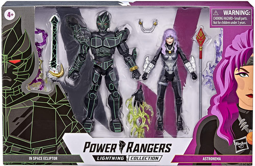 Power Rangers In Space Lightning Collection Ecliptor & Astronema Exclusive Action Figure 2-Pack (Pre-Order ships April)