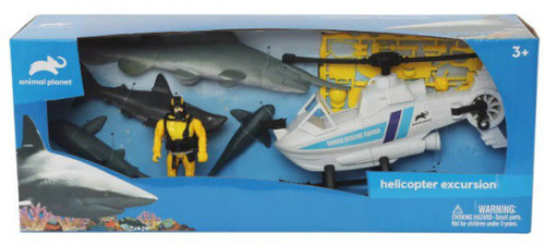 Animal Planet Helicopter Excursion Playset